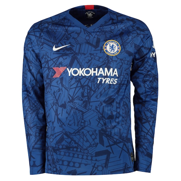 Chelsea Home Kit 2019 20 Long Sleeve Cfc Fan Tv Chelsea Fc Home
